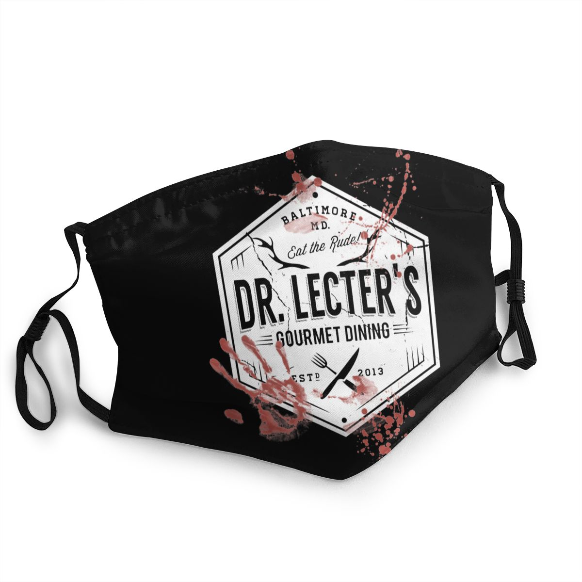 Dr Lecter's Hannibal Adult Reusable Face Mask Anti Haze Dust Protection Cover Respirator