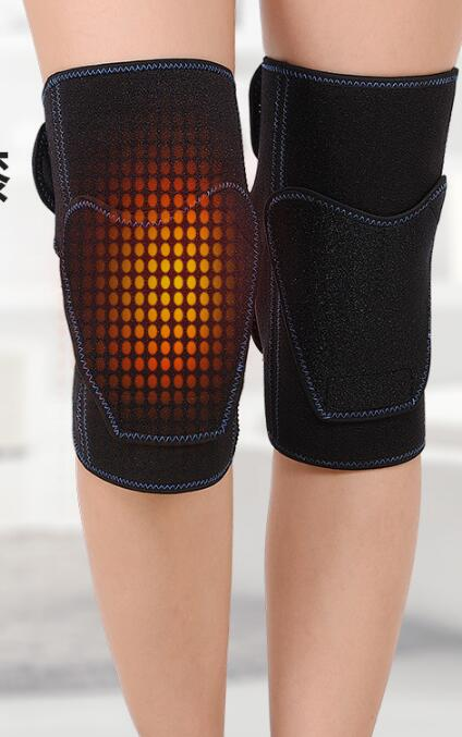 Tourmaline Knee Pads Adjustable Self-Heating Knee Massager Magnetic Therapy Knee Leggings Brace Support Health-Care