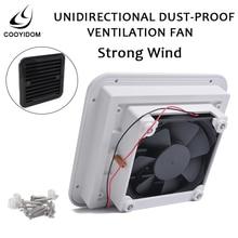Dust proof Ventilation Fan Caravan Side Exhaust Air Outlet Vent For RV Motorhome Trailer Boat Yacht caravan camper  caranvan
