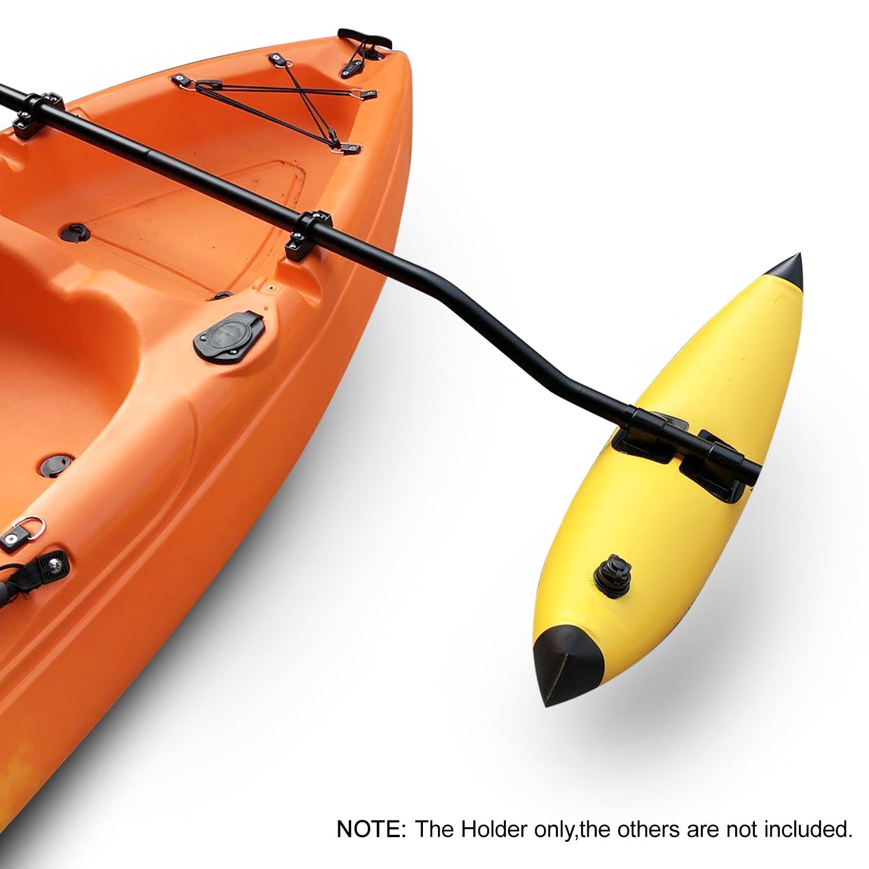 1 Pair Kayak Pole Bracket Holder Kit Kayak Motor Mount Holder D3D9