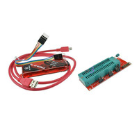 PICKIT3 Programmer+Universal PIC ICD2 PICKit 2 PICKIT 3 Programming Adapter Seat|Data Cables|   -