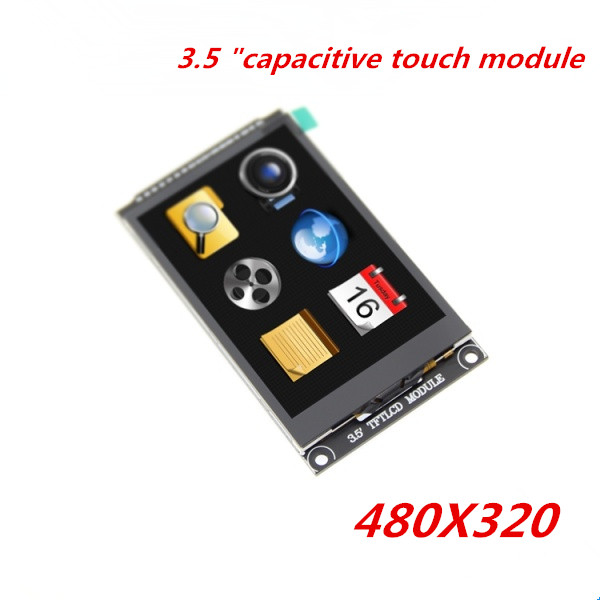 3.5 inch capacitive touch module HD TFT scherm kleur module 480X320 capacitieve touchscreen