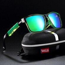 цена на BARCUR Sport Men Sunglasses Polarized Outdoor Driving Sun glasses Female Oculos de sol