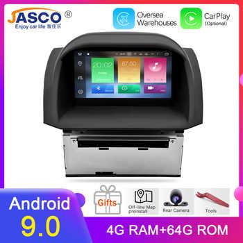 4 G Android 9.0 voiture DVD stéréo pour Ford Fiesta 2013 2014 2015 2016 Auto Radio GPS Navigation Audio vidéo multimédia headunit