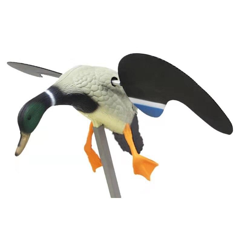 Simulação de isca de caça elétrica pato
