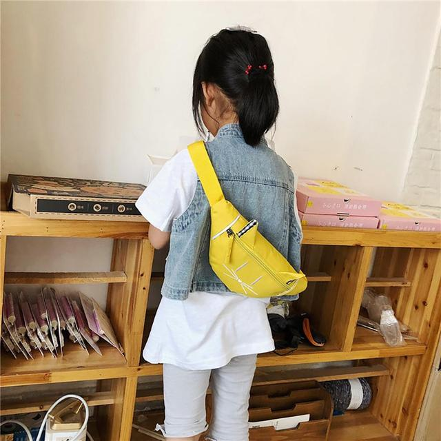 2019 Women Child Joker Mini Waist Bag Fanny Pack Cute Cat Ear Printed Fashion Chest Pocket money belt Shoulder Bag marsupio 1