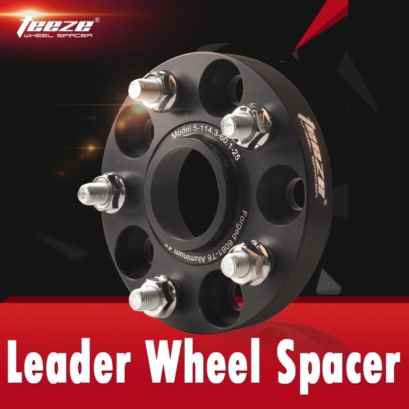 TEEZE Customization Wheel Spacers Conversion Adapters From 5x108 To 5x112 4x114.3 To 5x115 5x130 5x139.7 5x127 CUSTOMIZATION FEE
