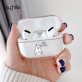 Cartoon Case for AirPods Pro Cute Cover Soft Silicone Bluetooth Earphone Protective Case for Apple Air pods Pro Case Despise Cat 3d lucky rat cartoon bluetooth earphone case for airpods pro cute accessories protective cover for apple air pods 3 silicone