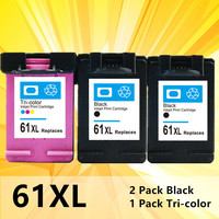 61xl Compatible for hp 61XL Ink Cartridge HP61 hp 61 xl for Envy 5530 Deskjet 2540 1050 2050 2510 3050 3054 3000 1000 Printer
