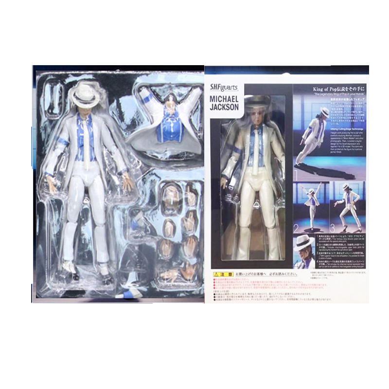 US $17.63 20% OFF|SHF MICHAEL Smooth Criminal Moonwalk Action Figure Collectible Model Toy|Action & Toy Figures| |  - AliExpress