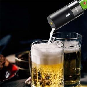 Image 3 - STARCOMPASS Tragbare Bier Kühler Bier Schaum Maschine Verwenden Mit Spezielle Zweck Für Flaschen und Konserven Biere Schrank