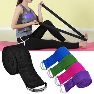 Yoga Stretching Strap Adjustable Yoga Belt Yoga Band with D-Ring Buckle fitness Yoga Stretching Strap Yoga assisted Stretch Band