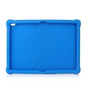 Image 3 - Funda de silicona para tableta Lenovo Smart Tab P10 TB X705F, antigolpes, con soporte, M10, TB X605F, 10,1