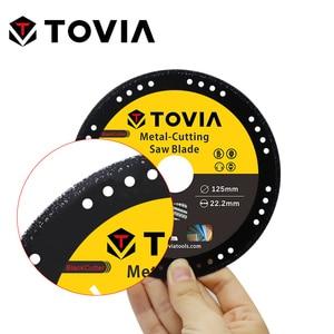 Image 3 - TOVIA 125 millimetri Diamante Circolare Seghe Lama di Taglio In Acciaio In Acciaio Inox Alluminio Disco Di Taglio Per Metallo Seghe Lama 115 millimetri seghe Disco