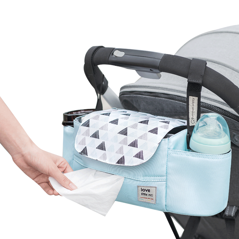 Portable Diaper Bag Stroller Bag Organizer High Capacity Baby Nappy Bag Maternity Bag For Baby Care For Mom