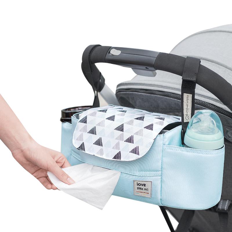 Portable Diaper Bag Stroller Bag Organizer High Capacity Baby Nappy Bag Maternity Bag For Baby Care For Mom