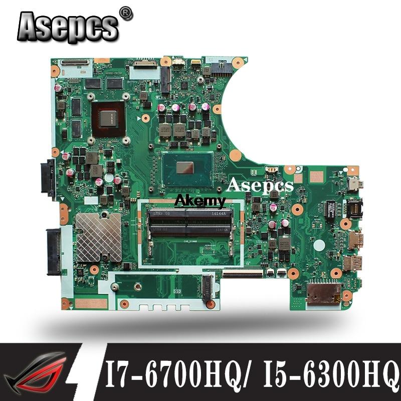 Exchange For ASUS VivoBook N752VX N752V N752VW Mainboard I7-6700HQ Motherboard