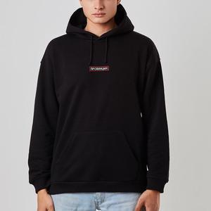 Image 4 - Męskie czarne bluzy z kapturem z rosyjskimi napisami drukowane prowincja moda bluza dla mężczyzn Hipster fajne graficzne bluzki Unisex