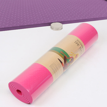1830*610*8mm Non-slip Yoga Mat Indoor Fitness Gym Workout For Beginner Environmental Gymnastics Carpet Mats Thick Exercise Pad foldable gymnastics mats indoor sports folding fitness gym exercise yoga mat pad outdoor training body building mattress