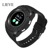 V8 Smart Watch Bluetooth Smartwatch Touch Screen Wrist Watch With Camera SIM Card clock Waterproof Sports Watch For Android original waterproof u8s sport u watch bluetooth smart wrist sports