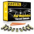 BMTxms Canbus для Hyundai Tucson Santa Fe Santafe i10 i20 i30 i40 ix20 ix35 ix55 Автомобильный светодиодный Интерьер Карта Купол светильник комплект