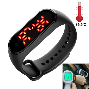 Body Temperature Precise Measurement Sports Smart Watch For Men Bracelet Waches Women Smartband Digital Alarm Clock Wristband image