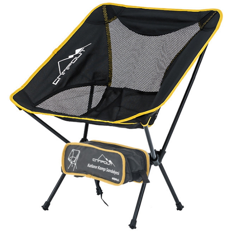 ABSF CAMPOUT Portable Camping Beach Chair Lightweight Folding Fishing Outdoor Camping Outdoor Ultra Light Chairs