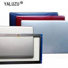 YALUZU neue für Samsung NP535U3C NP530U3C NP530U3B NP532U3C LCD Zurück Abdeckung BA75 03709G Silber 530U3B 535U3C 532U3C 532U3X fall