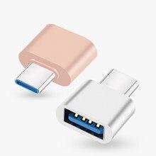 Novo usb 2.0 tipo-c otg cabo adaptador tipo c USB-C otg conversor para xiaomi mi5 mi6 huawei samsung mouse teclado usb disco flash