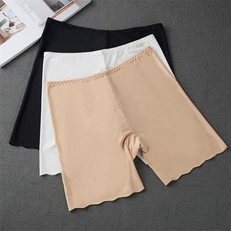 Women Safety Shorts Seamless Pants Nylon High Waist Panties Seamless Anti Emptied Boyshorts Pants Girls Underwear Slimming