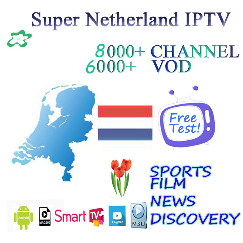 Netherlands Europe IPTV 8000+ Lives Spain  Italy Germany IPTV Live Hot Xxx Subscription Android Box Ssmart TV M3u