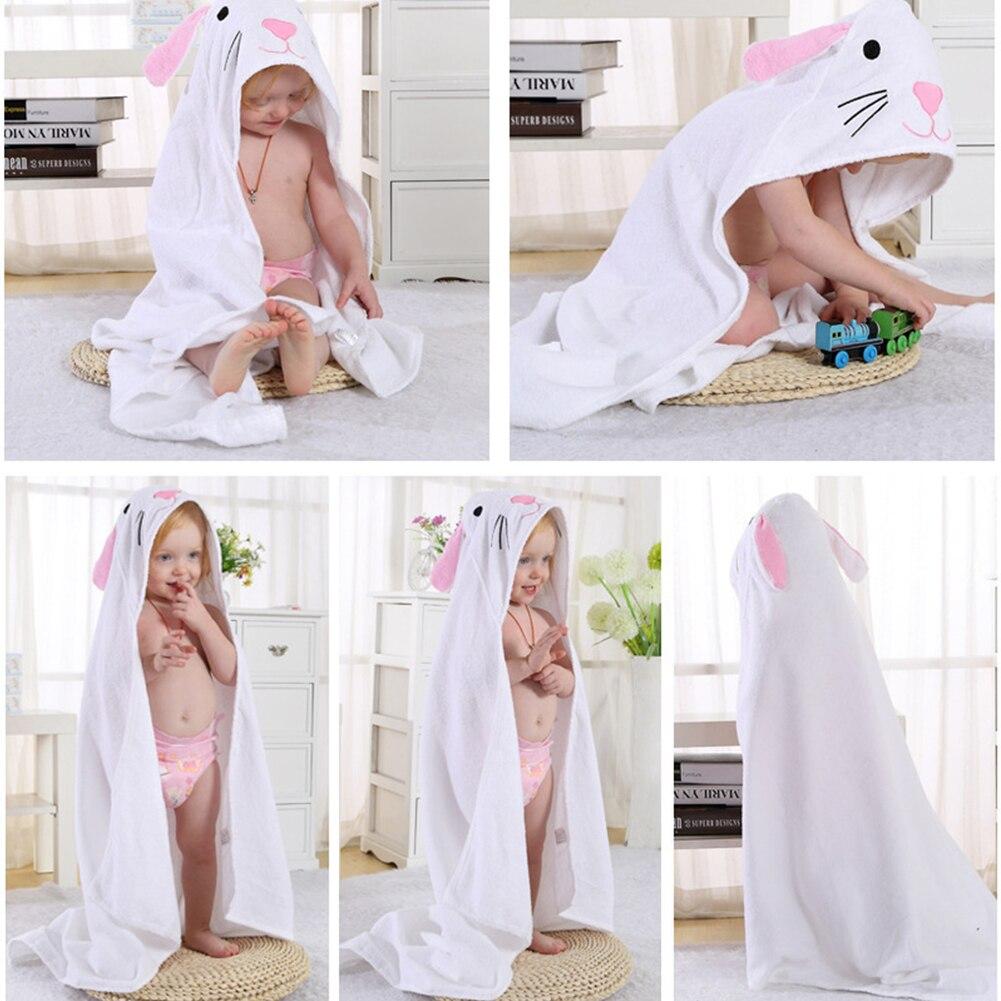 Animais Criança Robe de Banho Com Capuz
