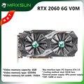 Видеокарта MAXSUN GeForce RTX 2060, 6 ГБ, 192 бит, GDDR6, 12 нм, PCI Express 3,0x16 DP DVI