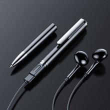 32GB dyktafon cyfrowy 64G 128GB nagrywanie dźwięku WAV 192Kpbs akumulator dyktafon V10