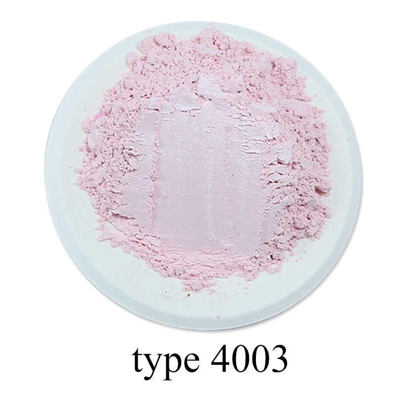 Tipo 4003 pigmento perla polvo Mineral Mica polvo pigmento acrílico pintura para colorante para teñido jabón arte automotriz marrón 50g