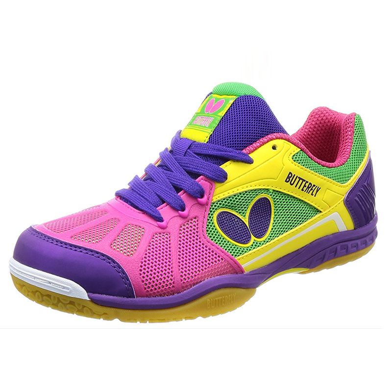 Men Professional Table Tennis Shoes Rubber Quality Green Blue Women Ping Pong Sports Trainers Anti-Slippery Spring Autumn