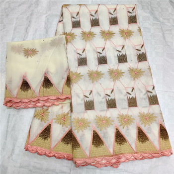 swiss voile lace in switzerland High Quality Nigerian French Pure Cotton Embroidered Swiss voile Lace for dress L14-62