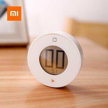 Магнитный электронный таймер Xiaomi Jiezhi, ЖК-экран, кухонный таймер, таймер обратного отсчета, будильник, управление временем