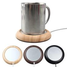 Деревянный usb-нагреватель подогреватель чашки usb-обогреватель кружка для напитков коврик Keep Drink теплый, с подогревом Кружки Coaster теплый коврик USB гаджет