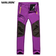 Trousers Hiking-Pants Travel Outdoor Quick-Dry Womens Windproof Camping Antifouling Warmth