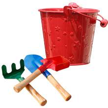 Gardening-Tool-Set 3pcs of for Kids Children Random-Color 1set