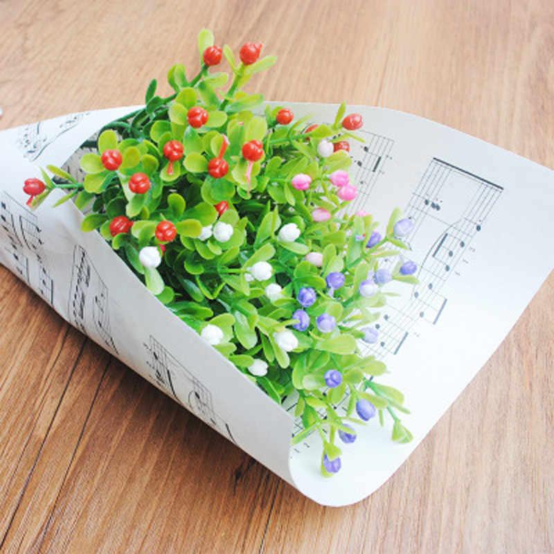 מילאנו מלאכותיים פלסטיק זר באיכות גבוהה לחתונה בית גן חיצוני קישוט מזויף פרח