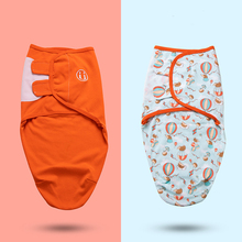 Swaddle-Wrap Blanket Bedding Baby-Accessories Two-Packs Newborn Cartoon of Cotton