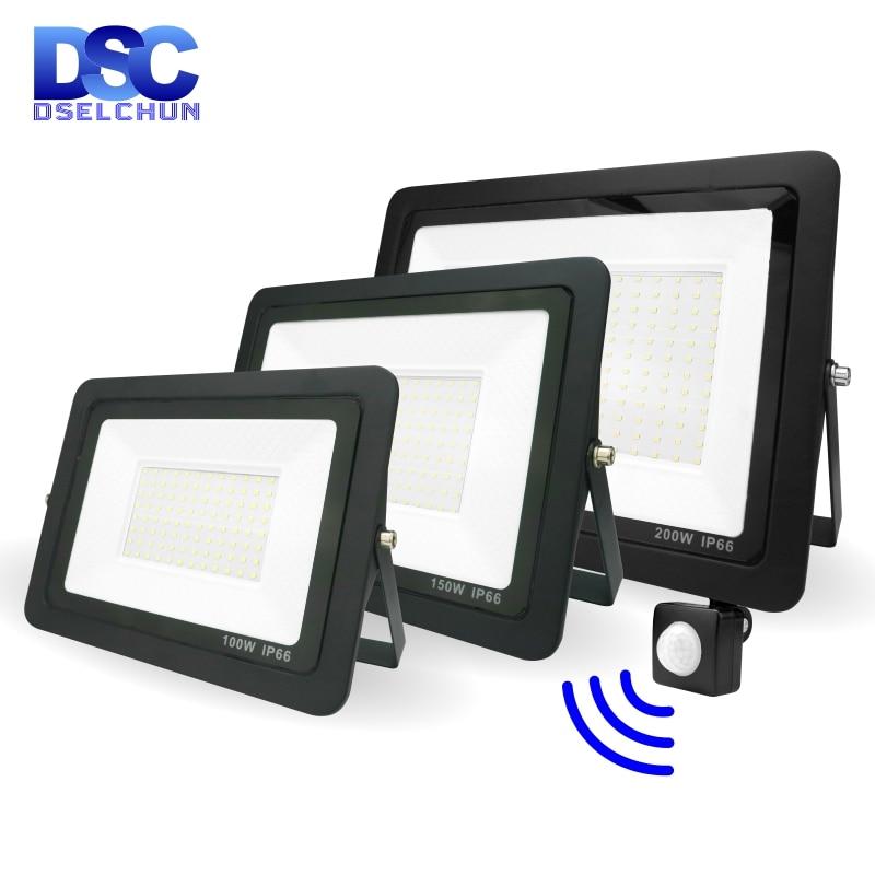 Светодиодный датчик движения PIR Сенсор потолочные светильник 200 Вт 150 Вт 100 Вт 50 Вт 30 Вт 20 Вт 10 Вт напольный светильник ing потолочные светильни...