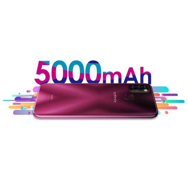 Global Version Infinix Hot 10 Lite Smart Phone 6.6''HD screen 5000mAh Battery 1600*720P 13MP Camera Helio A20 3