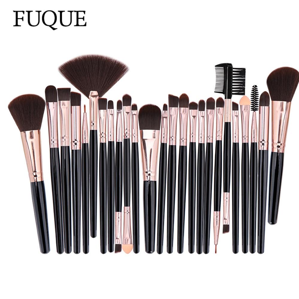 Professional Makeup Brushes Set Powder Foundation Blusher and Eyeshadow Tools For Women Cosmetic 25Pcs Brushes Set 1