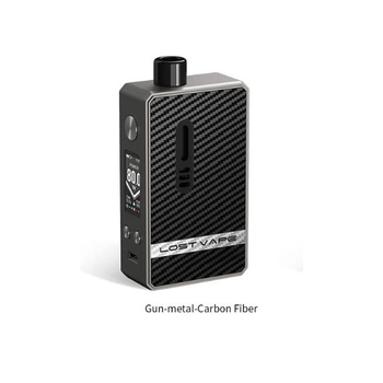 Lost Vape – Kit de dosettes hybrides Gemini, 80W, batterie unique 18650, dosette de 4ml, avec bobine de Boost, Original