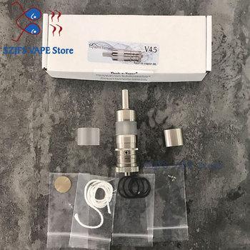 Flash Fev V4.5 RTA Atomizer Electronic Cigarette 316SS 6ml Rebuildable Deck Mech Tank for 510 Battery Box Mod Vape Vapor