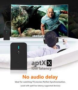 Image 5 - CALETOP APTX Low Latency Bluetooth 5.0 เครื่องส่งสัญญาณ 2 In 1 อะแดปเตอร์ไร้สายเสียง 3.5 มม.สำหรับทีวี PC ลำโพงหูฟัง