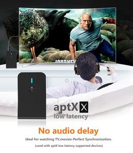 Image 5 - CALETOP, APTX, receptor transmisor de Audio de baja latencia Bluetooth 5,0, adaptador de Audio inalámbrico 2 en 1 de 3,5mm para coche, TV, PC, altavoz y auriculares